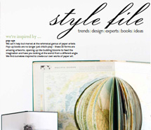 <p><strong>Home Beautiful Magazine</strong><br /> &#8216;style file&#8217;</p>