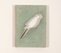 Birds, 2007, hand cut book, 59 x 51 x 6 cm