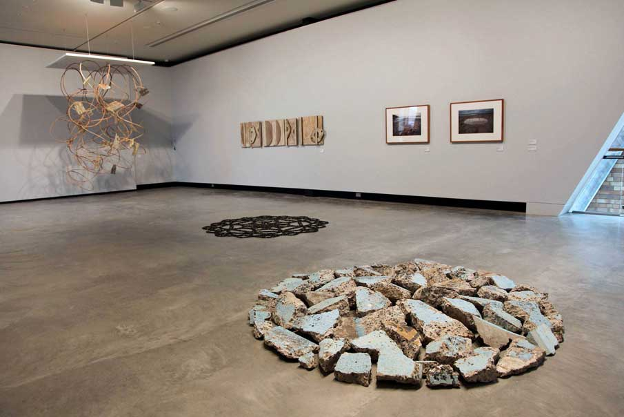 Installation view, Objects Urbanites, 2015, Maitland Regional Gallery